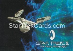 Star Trek Fan Club Trading Card Star Trek V The Final Frontier