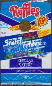 Star Trek Hostess Frito Lay Package