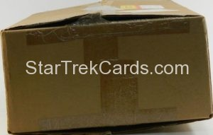 Star Trek II The Wrath of Khan FTCC Trading Card Case Side