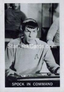 Star Trek Leaf 1967 Trading Card 11 Front