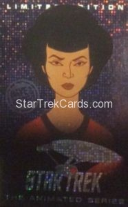 Star Trek The Animated Series Arcade Set Limited Edition Captain Uhura