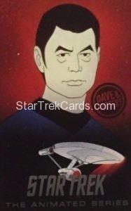Star Trek The Animated Series Arcade Set Trading Card Bones McCoy