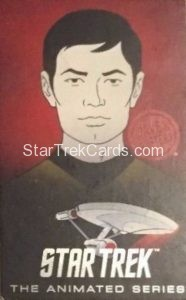 Star Trek The Animated Series Arcade Set Trading Card Hikaru Sulu
