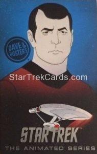 Star Trek The Animated Series Arcade Set Trading Card Scotty