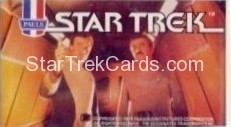 Star Trek The Motion Picture Paul's Ice Cream Trading Card Sticker Kirk and Scotty