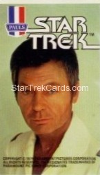 Star Trek The Motion Picture Paul's Ice Cream Trading Card Sticker McCoy