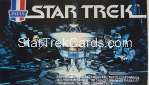 Star Trek The Motion Picture Paul's Ice Cream Trading Card Sticker V Ger 1