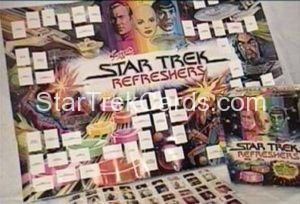 Star Trek The Motion Picture Swizzels Poster