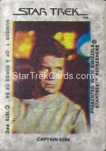 Star Trek The Motion Picture Swizzels Trading Card 1