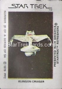 Star Trek The Motion Picture Swizzels Trading Card 31