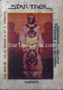 Star Trek The Motion Picture Swizzels Trading Card 4