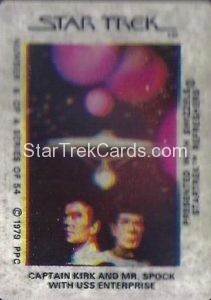 Star Trek The Motion Picture Swizzels Trading Card 6
