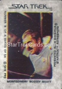 Star Trek The Motion Picture Swizzels Trading Card 9