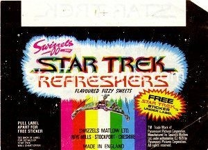 Star Trek The Motion Picture Swizzels Wrapper