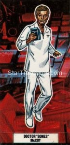Star Trek The Motion Picture Weetabix Trading Card Doctor Bones McCoy Front