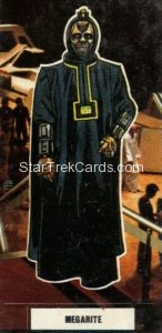 Star Trek The Motion Picture Weetabix Trading Card Megarite Front