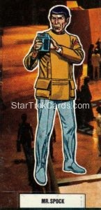 Star Trek The Motion Picture Weetabix Trading Card Mr. Spock Front