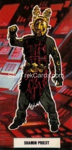 Star Trek The Motion Picture Weetabix Trading Card Shamin Priest Front