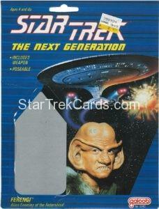 Star Trek The Next Generation Action Figure Cards Galoob Ferengi Alternate