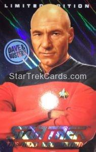 Star Trek The Next Generation Arcade Set Trading Card Captain Picard Foil Enhanced