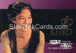 Star Trek The Next Generation Season Four Trading Card S23