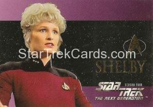 Star Trek The Next Generation Season Four Trading Card S24