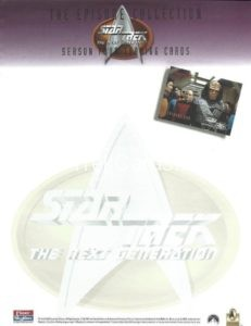 Star Trek The Next Generation Season Four Trading Card Stationery