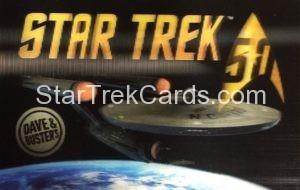 Star Trek The Original Series Arcade Set 50th Anniversary Lenticular Card 1