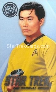 Star Trek The Original Series Arcade Set Base Set Hikaru Sulu Front