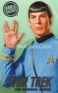 Star Trek The Original Series Arcade Set Base Set Spock Front
