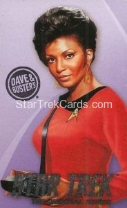 Star Trek The Original Series Arcade Set Base Set Uhura