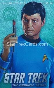 Star Trek The Original Series Arcade Set Trading Card Limited Edition Bones McCoy