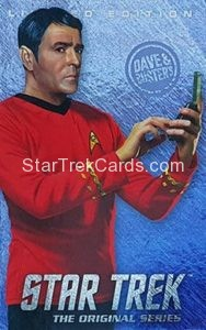 Star Trek The Original Series Arcade Set Trading Card Limited Edition Scotty