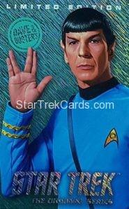 Star Trek The Original Series Arcade Set Trading Card Limited Edition Spock