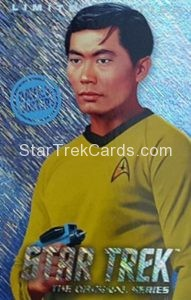 Star Trek The Original Series Arcade Set Trading Card Limited Edition Sulu