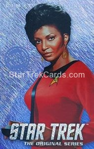 Star Trek The Original Series Arcade Set Trading Card Limited Edition Uhura