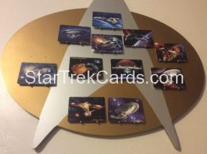 Star Trek The Voyagers Card Collection Porcelain Trading Card Display Board Alternate 2
