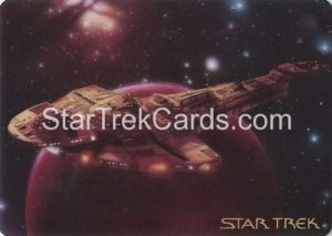Star Trek The Voyagers Card Collection Trading Card Prototype Proof Cardassian Galor Warship