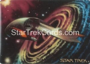 Star Trek The Voyagers Card Collection Trading Card Prototype Proof Ferengi Marauder
