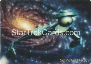 Star Trek The Voyagers Card Collection Trading Card Prototype Proof Klingon Battlecruiser