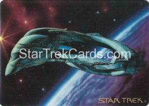 Star Trek The Voyagers Card Collection Trading Card Prototype Proof Romulan Warbird