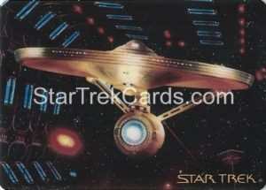 Star Trek The Voyagers Card Collection Trading Card Prototype Proof USS Enterprise NCC 1701 A