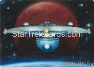 Star Trek The Voyagers Card Collection Trading Card Prototype Proof USS Excelsior