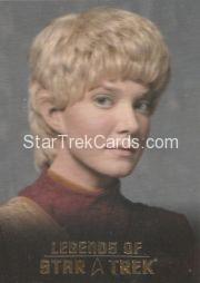 The Legends of Star Trek Trading Cards 2015 Exansion Set Kes L1