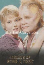 The Legends of Star Trek Trading Cards 2015 Exansion Set Kes L7