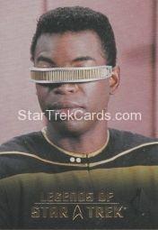 The Legends of Star Trek Trading Cards 2015 Exansion Set La Forge L4