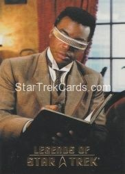 The Legends of Star Trek Trading Cards 2015 Exansion Set La Forge L5