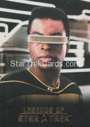 The Legends of Star Trek Trading Cards 2015 Exansion Set La Forge L6