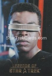 The Legends of Star Trek Trading Cards 2015 Exansion Set La Forge L7