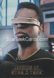 The Legends of Star Trek Trading Cards 2015 Exansion Set La Forge L8